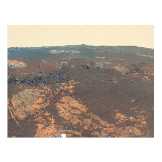 Matijevic Hill Panorama From Mars Rover Letterhead