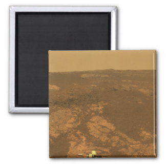Matijevic Hill Panorama from Mars Rover Fridge Magnet