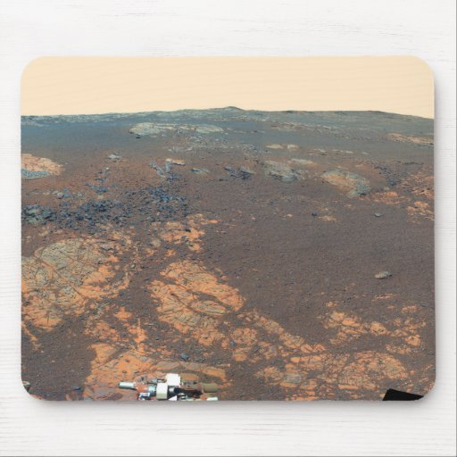 Matijevic Hill Panorama From Mars Rover Mouse Pad