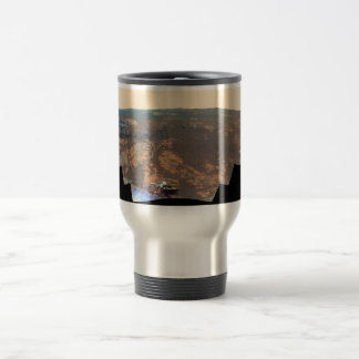 Matijevic Hill Panorama From Mars Rover 15 Oz Stainless Steel Travel Mug