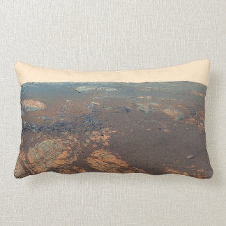 Matijevic Hill Panorama From Mars Rover Pillow