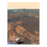 Matijevic Hill Panorama From Mars Rover Postcard