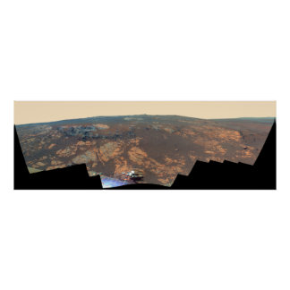 Matijevic Hill Panorama From Mars Rover Posters