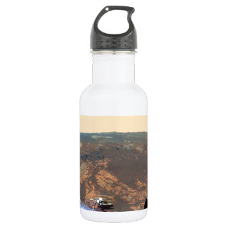Matijevic Hill Panorama From Mars Rover Stainless Steel Water Bottle