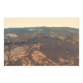 Matijevic Hill Panorama From Mars Rover Stationery