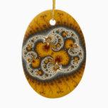 Matilda19 - Fractal art Ceramic Ornament