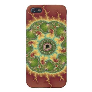 Matilda21a - Arte del fractal iPhone 5 Carcasas