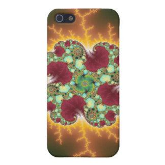 Matilda 17 - Arte del fractal iPhone 5 Funda