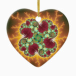 Matilda 17 - Fractal Art Ceramic Ornament