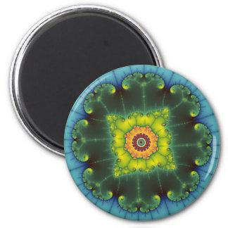 Matilda 1 - Fractal Art 2 Inch Round Magnet