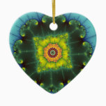 Matilda 1 - Fractal Art Ceramic Ornament