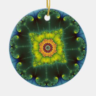 Matilda 1 - Fractal Art Ceramic Ornament