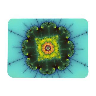 Matilda 1 - Fractal Art Rectangular Photo Magnet