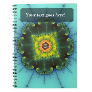 Matilda 1 - Fractal Art Spiral Notebook