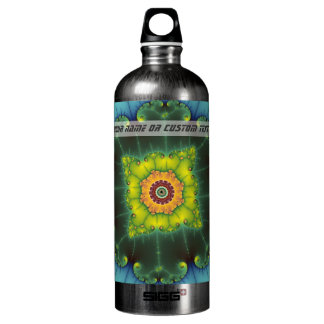 Matilda 1 - Fractal Art Water Bottle