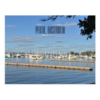 Matilda Bay, Perth, Australia Postcard