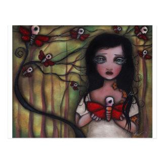 Matilda butterflies postcard