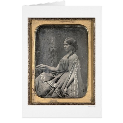 Matilda C. Heron [ca. 1850] Card