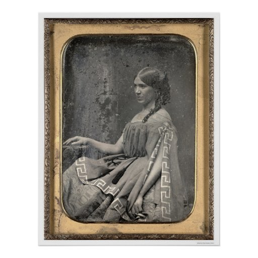 Matilda C. Heron [CA 1850] Póster