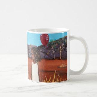 Matilda & Emu Classic White Coffee Mug