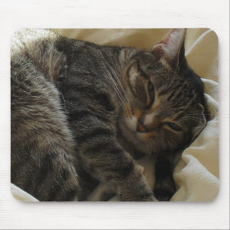 Matilda in Bed Mouse Pad