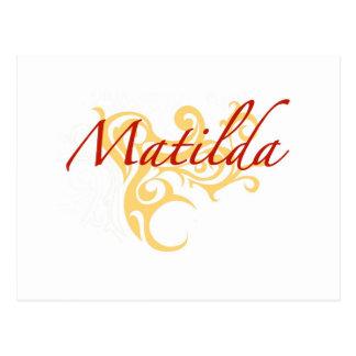 Matilda Postcard