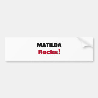 Matilda Rocks Bumper Sticker