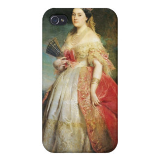 Matilde Leticia Wilhelmine Bonaparte 1861 iPhone 4/4S Fundas