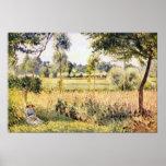 Matin un Eragny de Camille Pissarro Impresiones