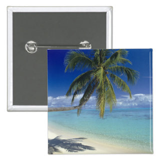 Matira Beach on the island of Bora Bora, Society Pin