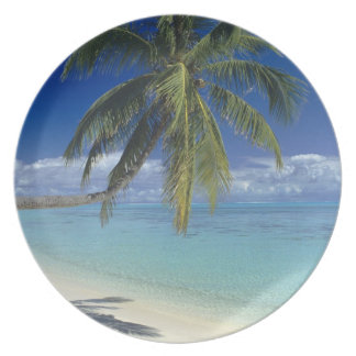 Matira Beach on the island of Bora Bora, Society Dinner Plates