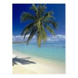 Matira Beach on the island of Bora Bora, Society Post Cards