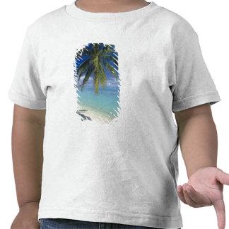 Matira Beach on the island of Bora Bora, Society Tee Shirt