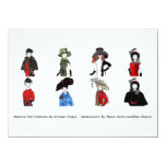 Matisse Doll Fashions - Card 5, 4.5 x 6.25 Custom Announcements