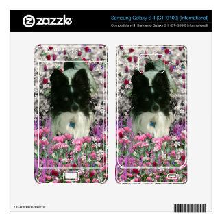 Matisse en las flores - blancas y el perro negro d samsung galaxy s II skins