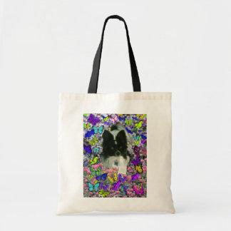 Matisse en las mariposas II - blancas y Papillon n Bolsas De Mano