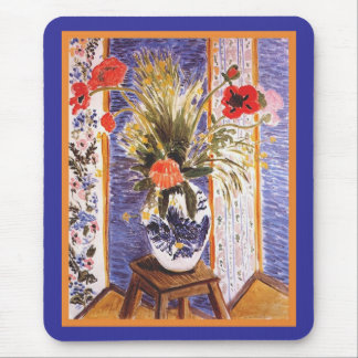 Matisse Flowers in a Bowl Mouse Pad