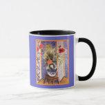 Matisse Flowers in a Bowl Mug