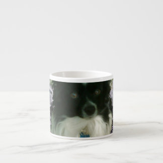 Matisse in Butterflies II - White & Black Papillon Espresso Cup