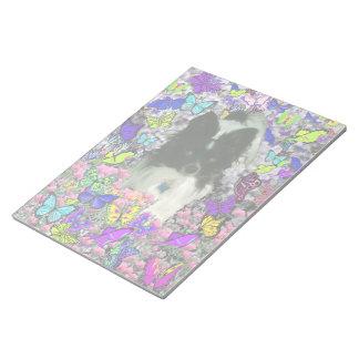 Matisse in Butterflies II - White & Black Papillon Notepads