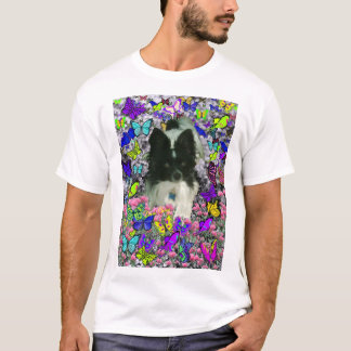 Matisse in Butterflies II - White & Black Papillon T-Shirt