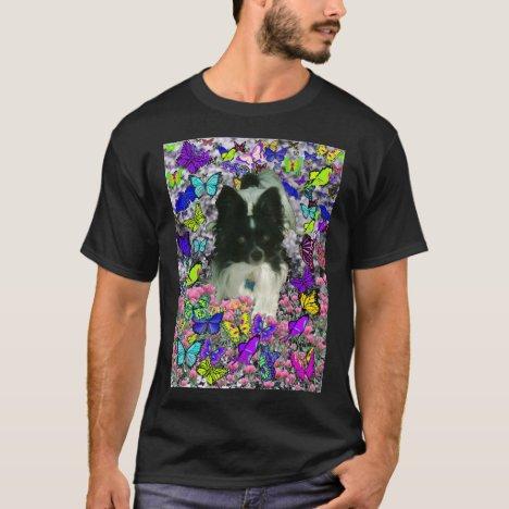 Matisse in Butterflies II - White & Black Papillon T-Shirt