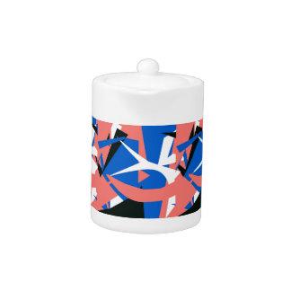 Matisse-inspired Teapot