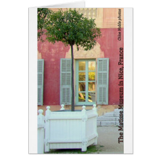Matisse Museum in Nice France Cards