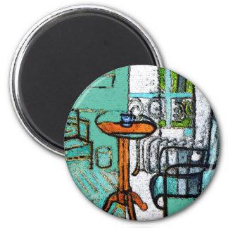 Matisse Style Coffee Mug Magnet
