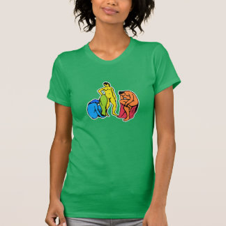 Matisse's girls having fun at the beach T-Shirt