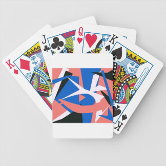 Matissian Abstract Bicycle Poker Cards