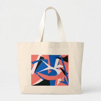 Matissian Abstract Large Tote Bag