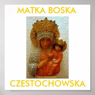 MATKA BOSKA CZESTOCHOWSKA POSTER