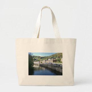 Matlock Bath in Derbyshire Tote Bags